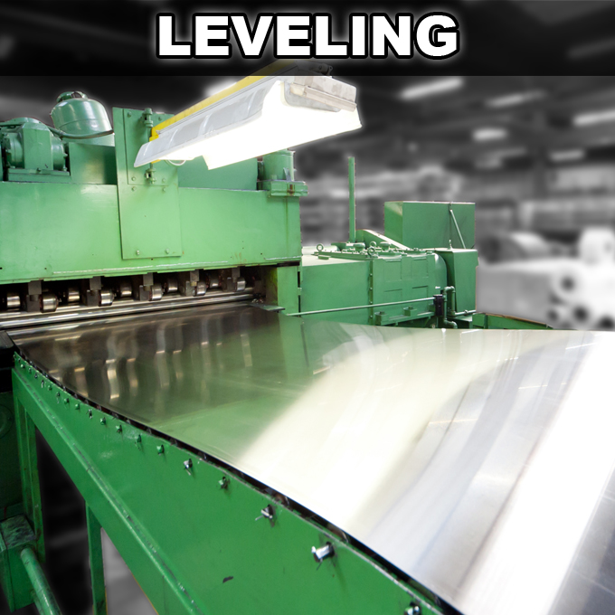 leveling Welcome to Rolled Steel Products, Inc.